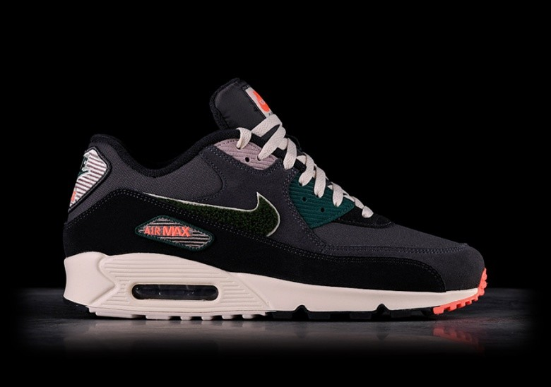 buy popular c551c ecc35 NIKE AIR MAX 90 PREMIUM SE OIL GREY