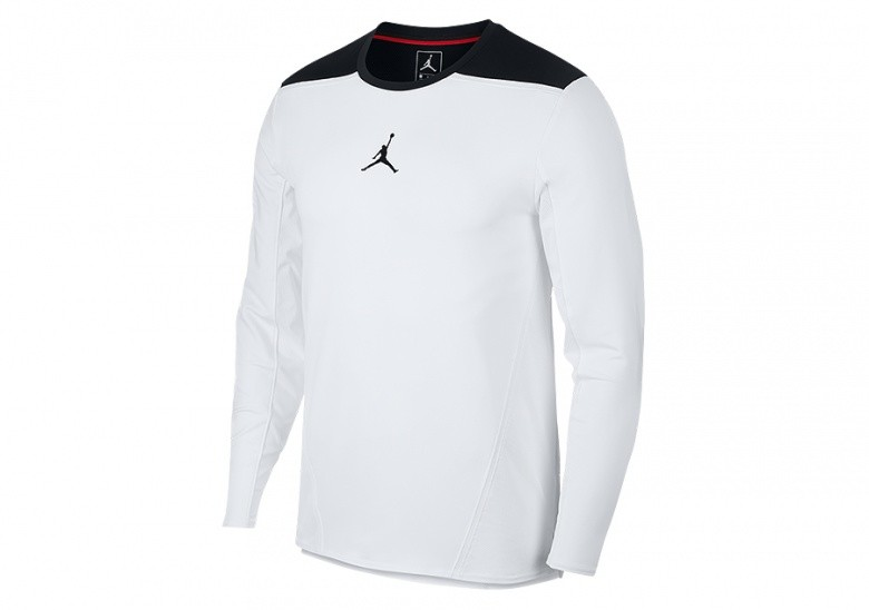 NIKE AIR JORDAN ULTIMATE FLIGHT SHOOTING SHIRT WHITE