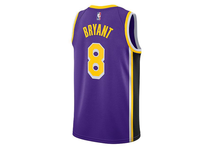817f4ed36 NIKE NBA LOS ANGELES LAKERS KOBE BRYANT SWINGMAN JERSEY FIELD PURPLE ...