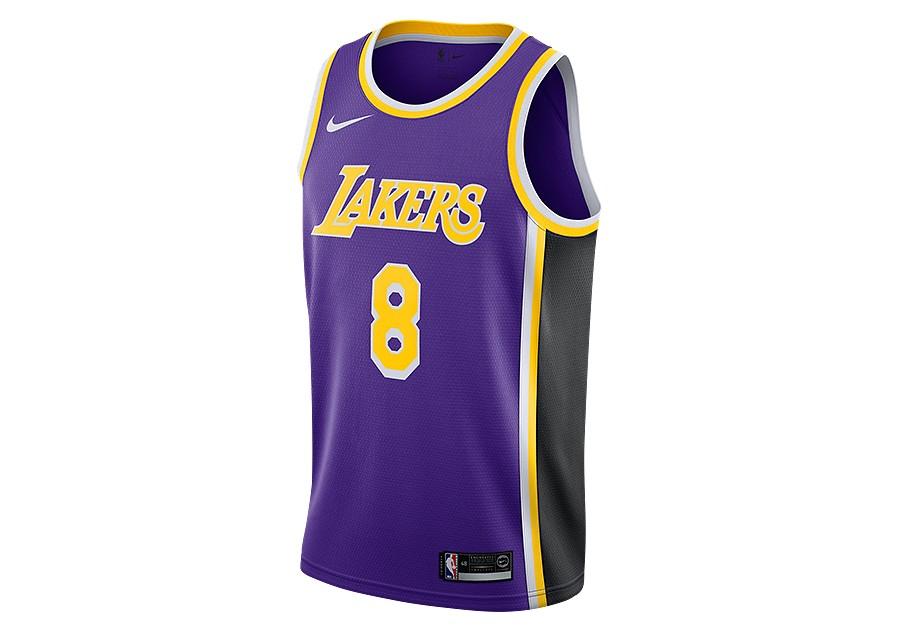 e632edc38 NIKE NBA LOS ANGELES LAKERS KOBE BRYANT SWINGMAN JERSEY FIELD PURPLE price  €92.50