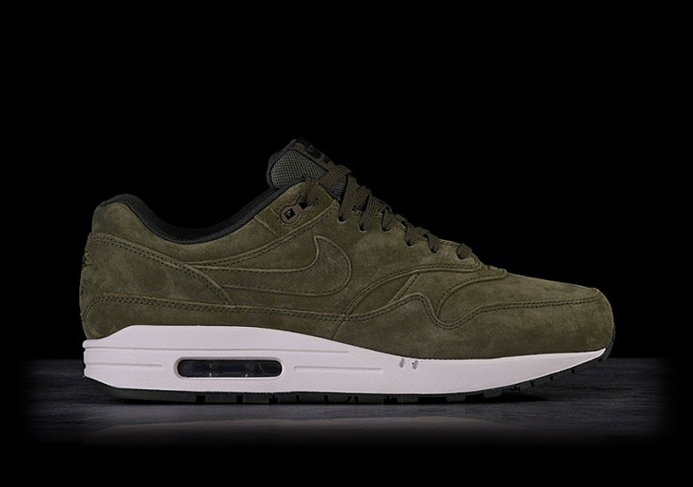 big sale 61916 38902 NIKE AIR MAX 1 PREMIUM OLIVE price €117.50 | Basketzone.net