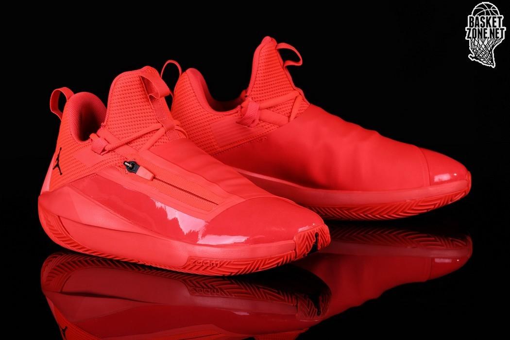 Mens Nike Air Jordan Jumpman Hustle Trainers INFRArot MJ 23