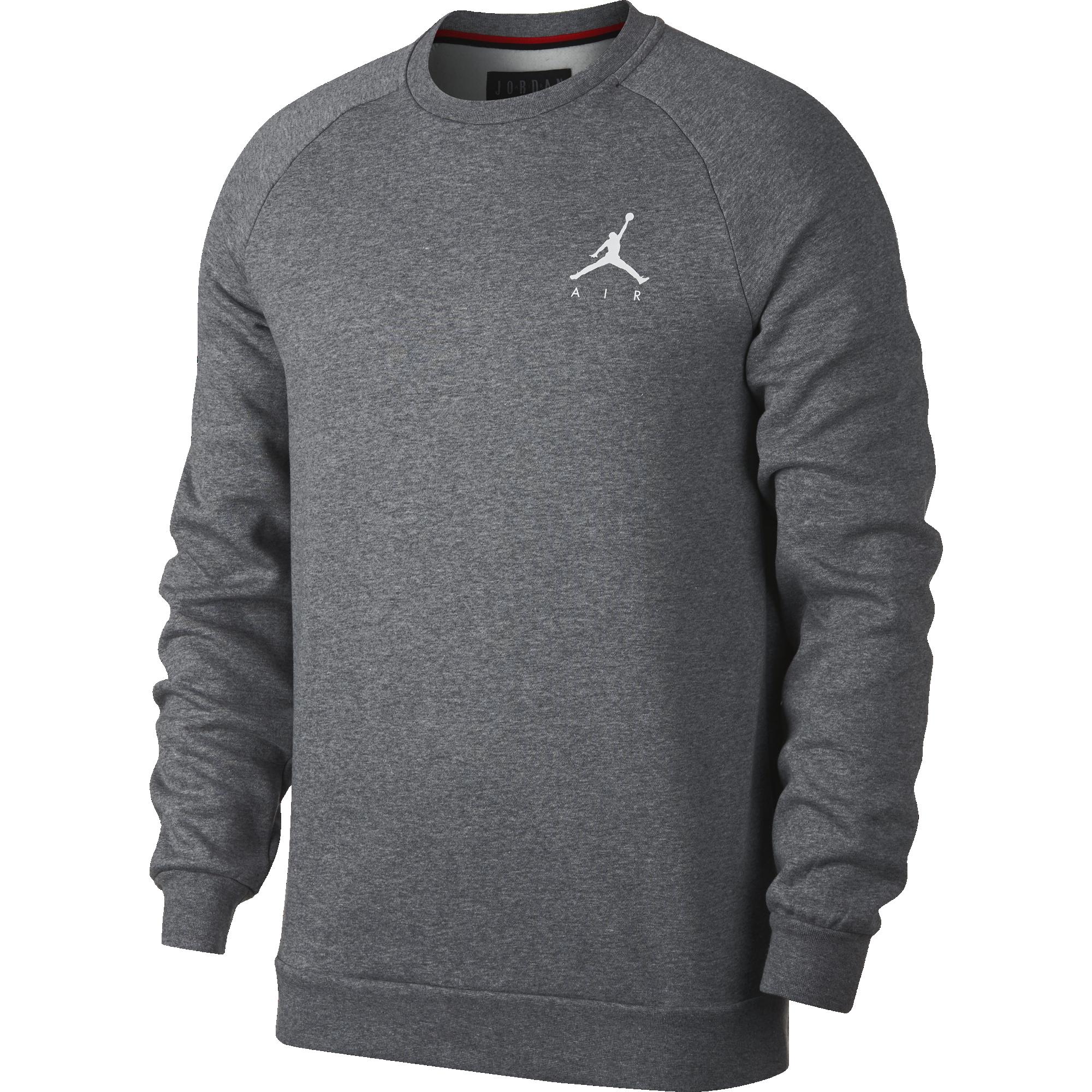 Nike Air Jordan Jumpman Classics Fleece Crew Black Gold Large
