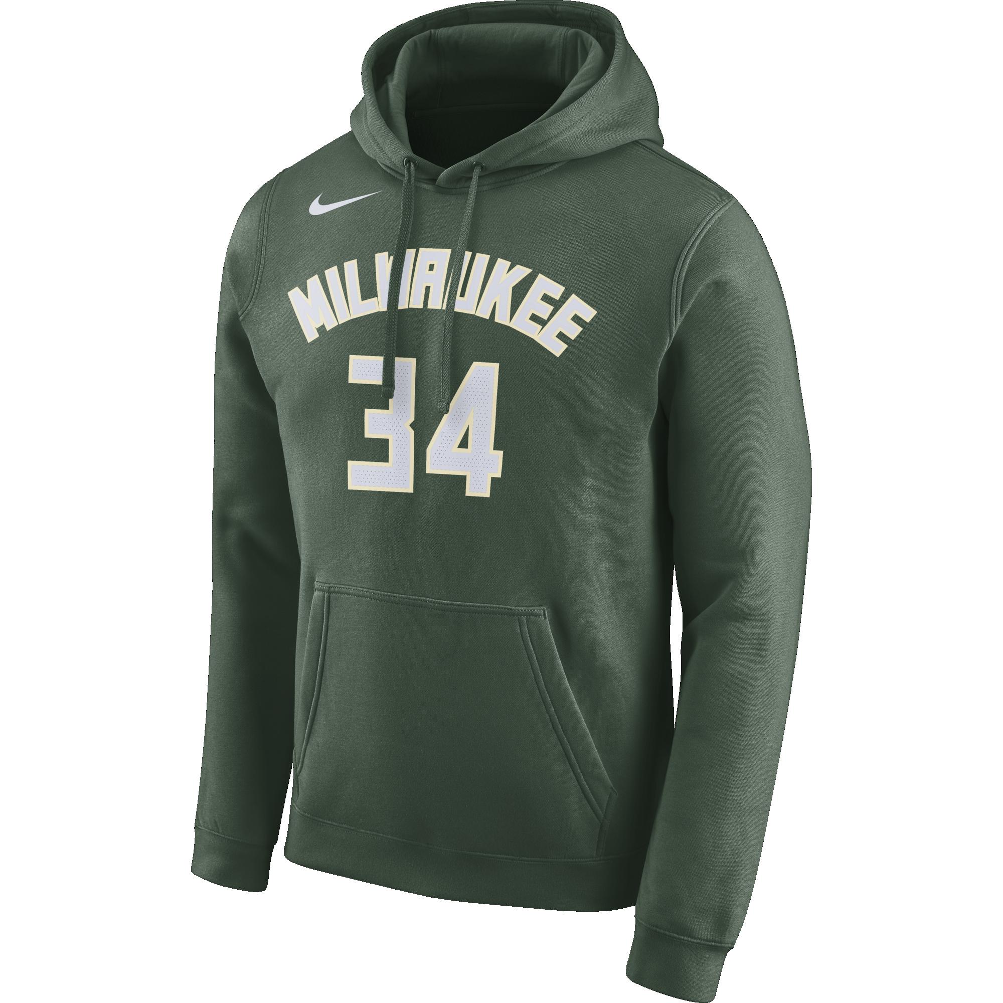 73e35958 NIKE NBA MILWAUKEE BUCKS GIANNIS ANTETOKOUNMPO HOODIE for £60.00 |  kicksmaniac.com | kicksmaniac.com