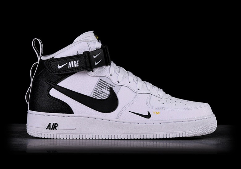 reputable site ea721 07f0b NIKE AIR FORCE 1 MID 07 LV8 UTILITY WHITE