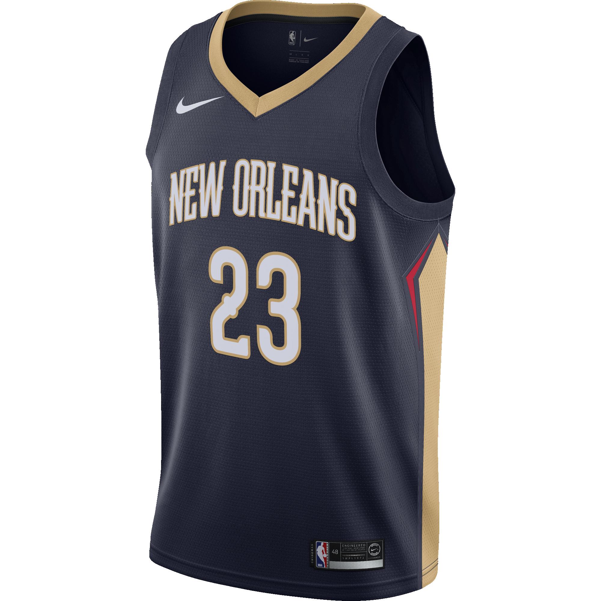 Nike Nba New Orlean Pelicans Anthony Davis Swingman Jersey