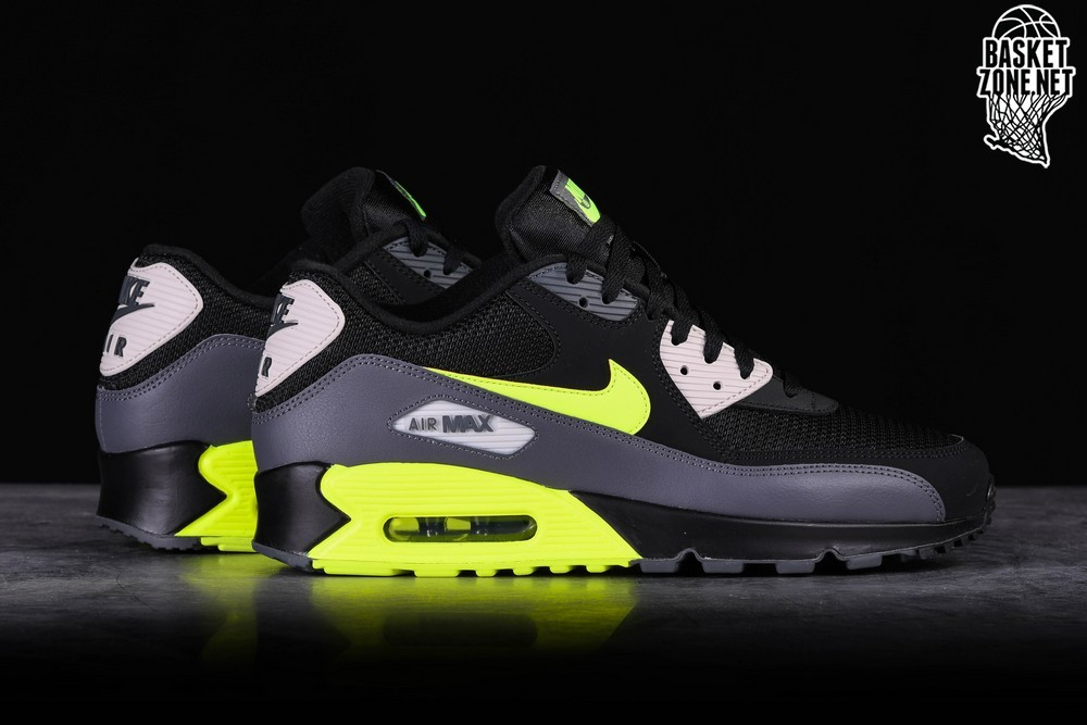 Elevado Defectuoso Profesión  NIKE AIR MAX 90 ESSENTIAL BLACK VOLT price €129.00 | Basketzone.net