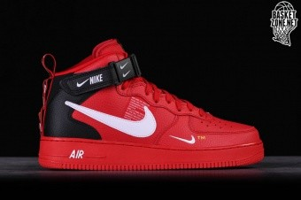 promo code 6e9d1 02452 NIKE AIR FORCE 1 MID  07 LV8 UTILITY RED