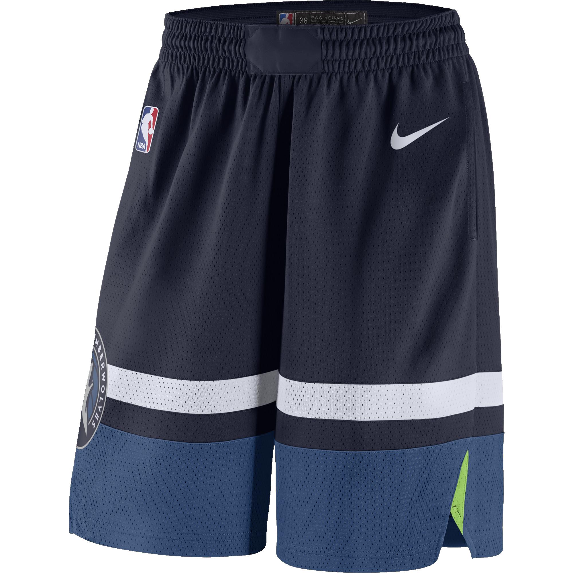size 40 93b57 6e7cb NIKE NBA MINNESOTA TIMBERWOLVES SWINGMAN ROAD SHORTS for ...