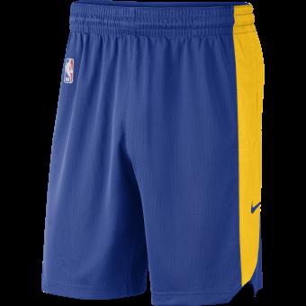 NIKE NBA GOLDEN STATE WARRIORS PRACTICE SHORTS