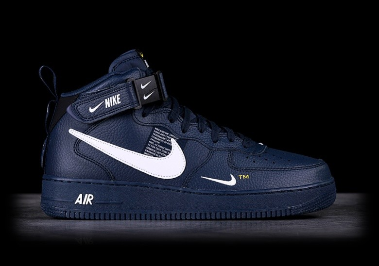 best loved 01f22 69e70 NIKE AIR FORCE 1 MID  07 LV8 OBSIDIAN