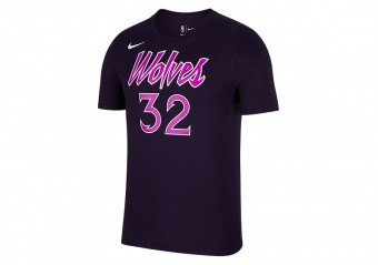 NIKE NBA MINNESOTA TIMBERWOLVES KARL-ANTHONY TOWNS DRY TEE PURPLE DYNASTY