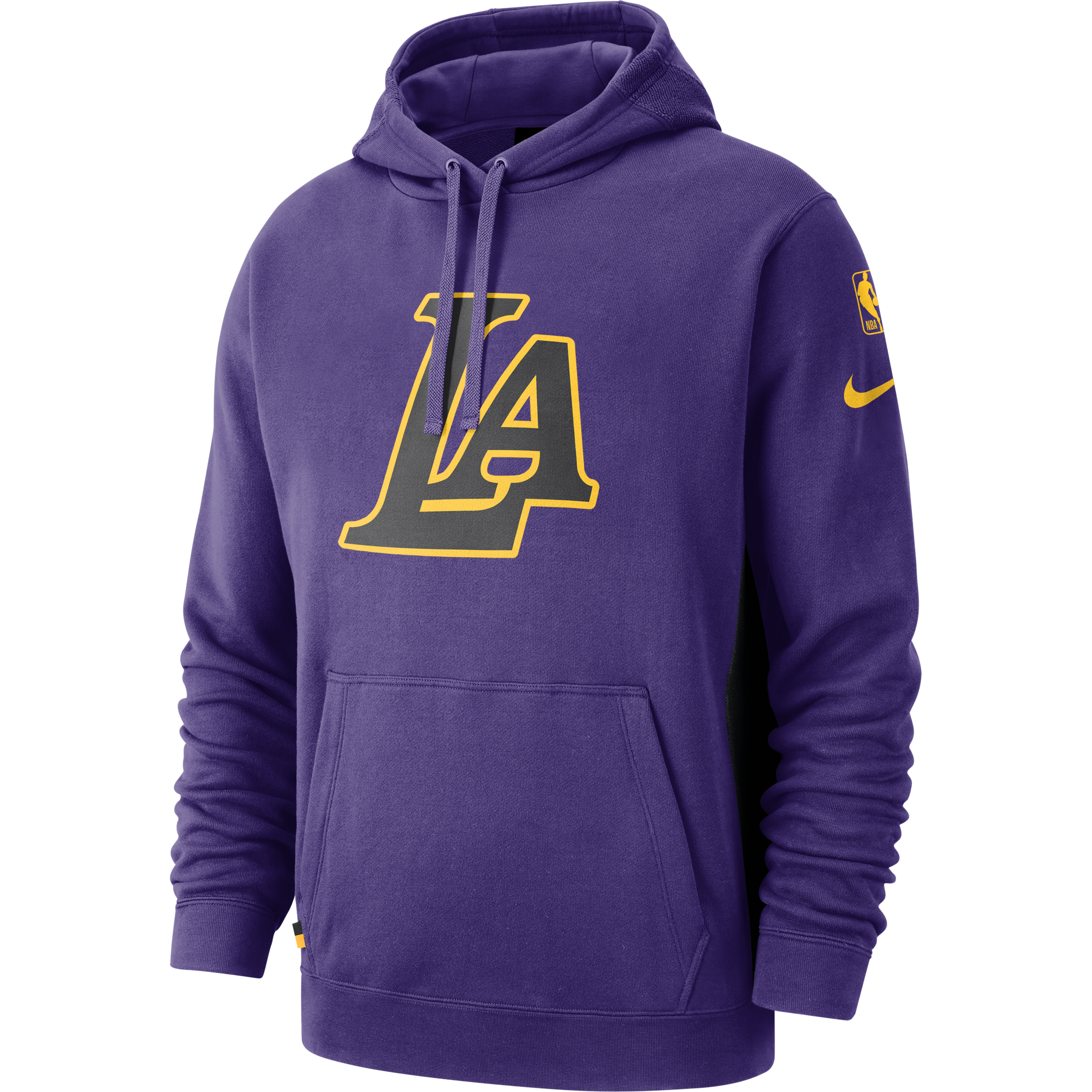brand new 27d71 7d541 NIKE NBA LOS ANGELES LAKERS COURTSIDE HOODIE for £75.00 ...