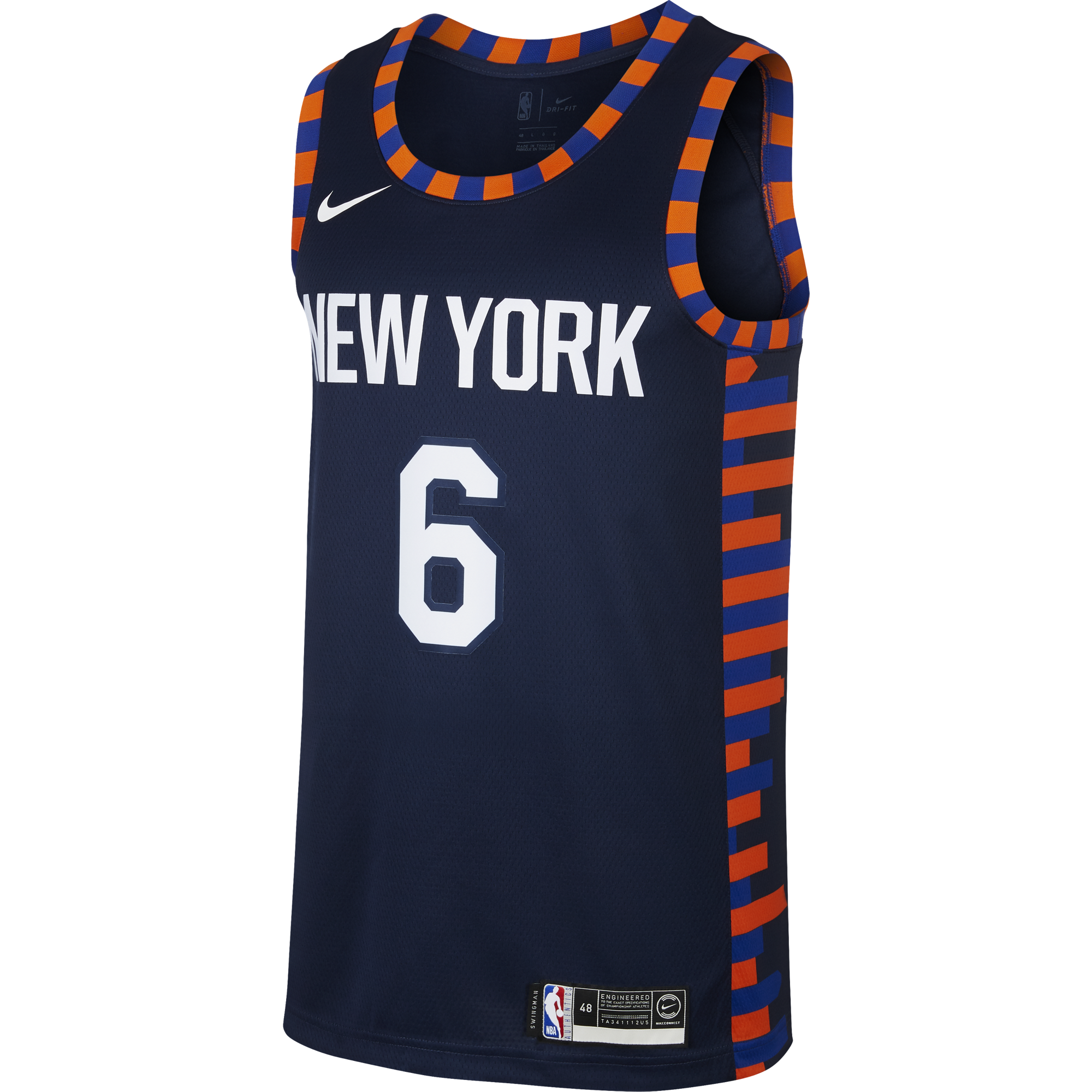 premium selection f5988 88d84 NIKE NBA NEW YORK KNICKS KRISTAPS PORZINGIS SWINGMAN JERSEY ...