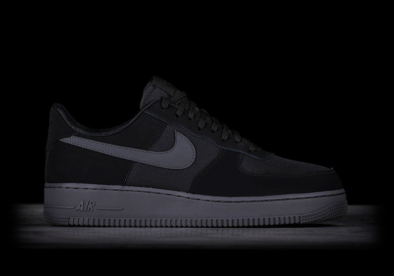 NIKE AIR FORCE 1 '07 TXT BLACK