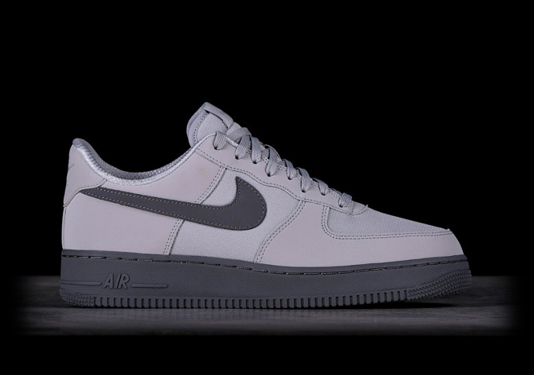 pick up ecd99 995ad NIKE AIR FORCE 1  07 TXT WOLF GREY