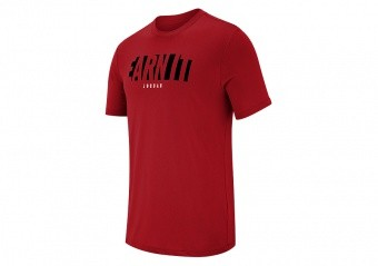 NIKE AIR JORDAN JMTC DRI-FIT TEE GYM RED