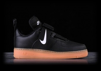 NIKE AIR FORCE 1 UTILITY BLACK