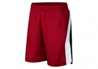 NIKE AIR JORDAN 23 ALPHA DRY GRAPHIC SHORTS GYM RED