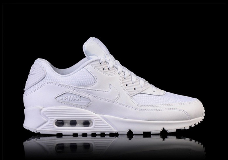 low priced 7c0ed f1949 NIKE AIR MAX 90 ESSENTIAL TRIPLE WHITE