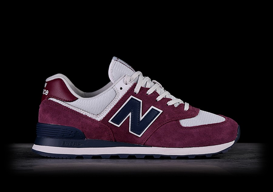 new style a3d5c 9584d NEW BALANCE 574 SCARLET WITH PIGMENT price €82.50 ...