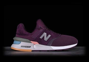NEW BALANCE 997 DARK CURRENT WITH WHITE PEACH