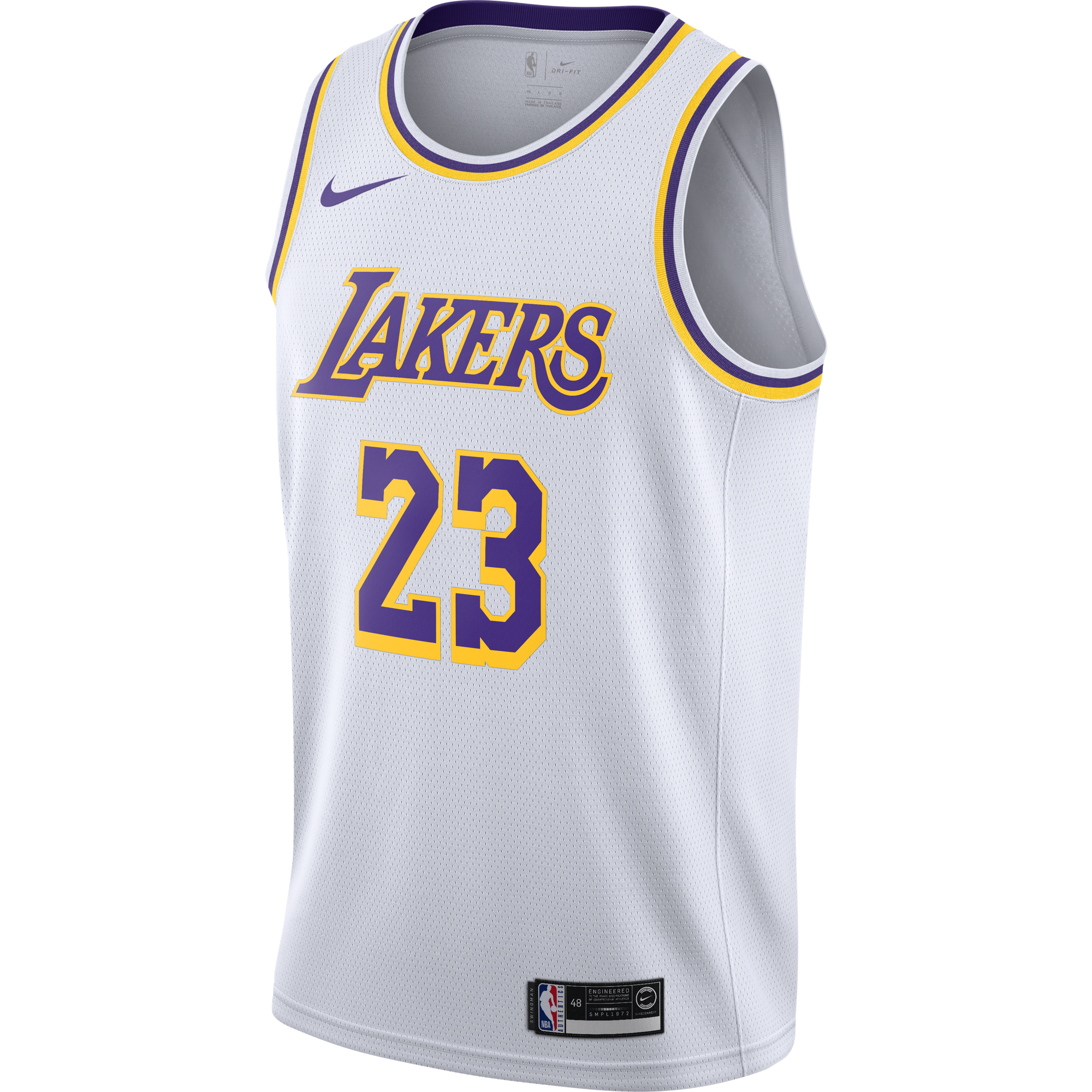 Nike Nba Los Angeles Lakers Lebron James Swingman Home Jersey For 80 00 Kicksmaniac Com