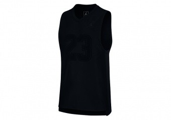 NIKE AIR JORDAN GAME JERSEY BLACK
