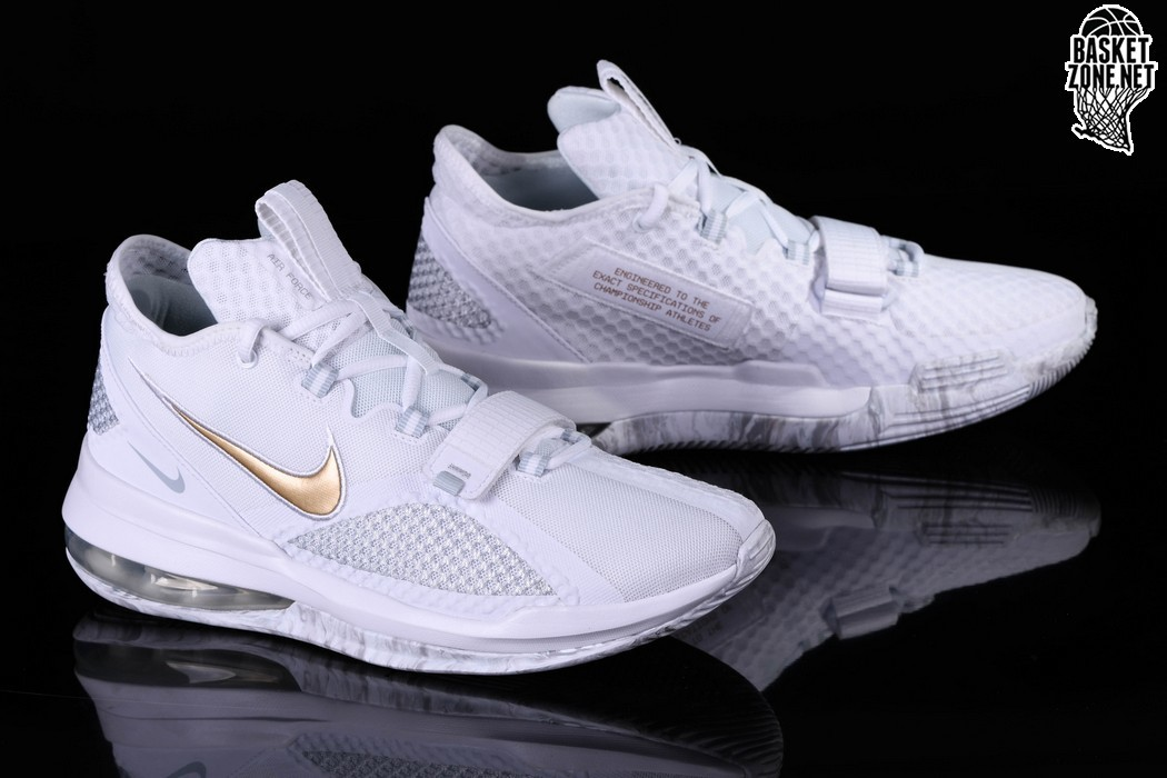 NIKE AIR FORCE MAX LOW WHITE GOLD pour €117,50 |