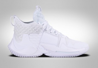 NIKE AIR JORDAN WHY NOT ZER0.2 TRIPLE WHITE R. WESTBROOK GS