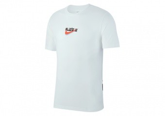 NIKE LEBRON JAMES DRI-FIT TEE WHITE