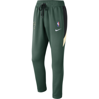 NIKE NBA MILWAUKEE BUCKS THERMAFLEX SHOWTIME PANTS