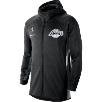 NIKE NBA LOS ANGELES LAKERS THERMA FLEX HOODIE