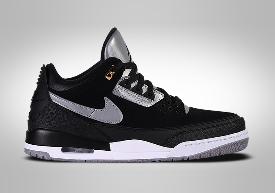Susteen presentación Aparentemente  NIKE AIR JORDAN 3 RETRO TINKER BLACK CEMENT price €262.50 | Basketzone.net