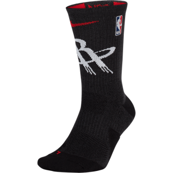 NIKE NBA HOUSTON ROCKETS ELITE CREW SOCKS