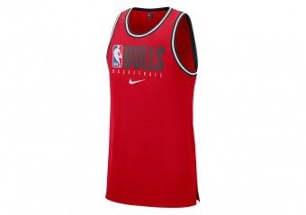 NIKE NBA CHICAGO BULLS DNA Dri-FIT TANK UNIVERSITY RED