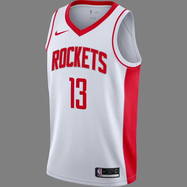 NIKE NBA HOUSTON ROCKETS JAMES HARDEN SWINGMAN HOME JERSEY