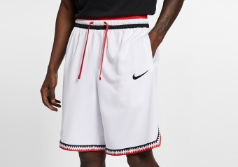 NIKE Dri-FIT DNA SHORTS 2.0 WHITE
