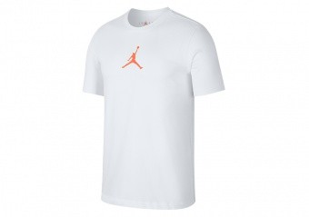 NIKE AIR JORDAN JUMPMAN CREW TEE WHITE INFRARED