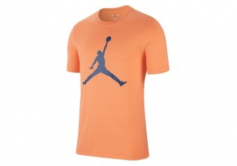 NIKE AIR JORDAN JUMPMAN TEE ORANGE TRANCE