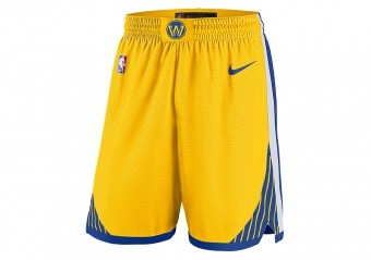 NIKE NBA GOLDEN STATE WARRIORS SWINGMAN SHORTS AMARILLO