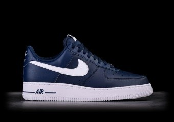 NIKE AIR FORCE 1 '07 AN20 NAVY BLUE