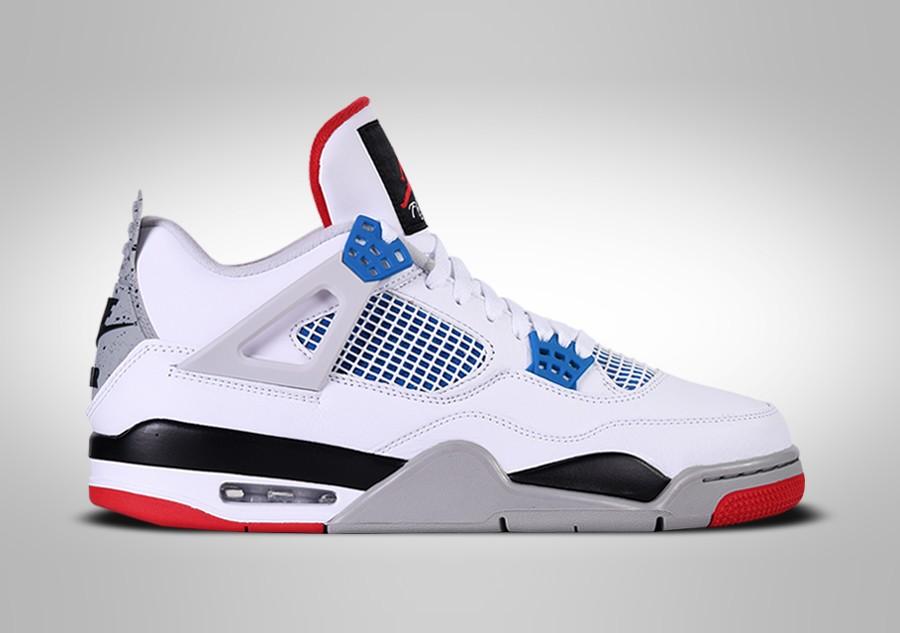 air jordan 4 retro blancas y azules