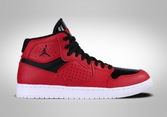 NIKE AIR JORDAN ACCESS GYM RED BLACK