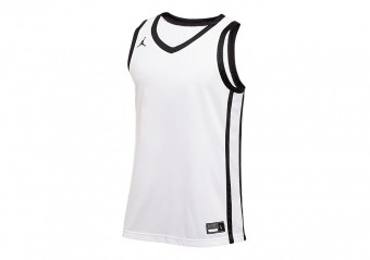 NIKE AIR JORDAN STOCK BASKETBALL JERSEY TEAM WHITE
