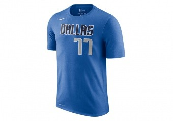 NIKE NBA DALLAS MAVERICKS LUKA DONČIĆ DRI-FIT TEE GAME ROYAL