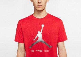 NIKE AIR JORDAN LEGACY AJ11 TEE UNIVERSITY RED