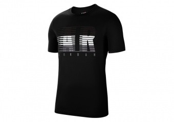 NIKE AIR JORDAN AIR MOTION TEE BLACK