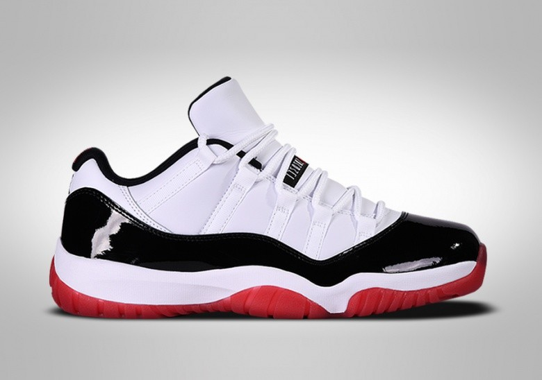 NIKE AIR JORDAN 11 RETRO LOW CONCORD BRED