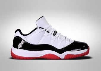 NIKE AIR JORDAN 11 RETRO LOW GS CONCORD BRED